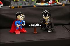 AMC Expo 2016 (Frost Bricks) Tags: amc melbourne expo lego mugs exhibition 2016 moc mocs superman batman dc heroes superheroes