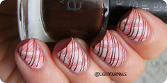 Plaid nails (Simona - www.lightyournails.com) Tags: nailart nailstamping esmalte smalto unghie manicure vernis cooi1 bornprettystore nude gabrini nails nailpolish nagellack naillacquer