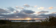 Good Morning North Sydney (TheNovaScotian1991) Tags: northsydney novascotia capebretonisland harbor water sunrise morninglight boats newfoundlandferry canada reflection nikond3200 tokina1116mmdxii ultrawideangle maritimes sky clouds