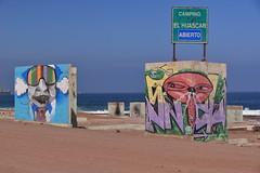 The Corner (Ctuna8162) Tags: playa beach antofagasta grafitti painters art