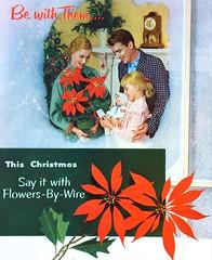 1950s FTD Florist Ad (Christian Montone) Tags: ads advertising vintageads adverts vintage print printads 1950s midcentury