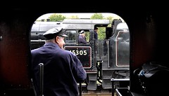 Great Central Railway Swithland Leicestershire 9th October 2016 (loose_grip_99) Tags: greatcentral railway railroad rail swithland leicestershire england uk footplate cab train steam engine locomotive lms jinty fowler 3f 060t tank stanier black5 460 45305 5305la gassteam uksteam trains railways preservation transportation autumn gala shunting october 2016