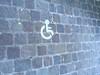 handicap pavé© (alexandrarougeron) Tags: signalisation signe handicap pavée urbain ville