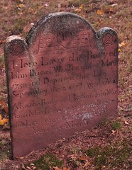 Old Clarkstown Reformed Church Cemetery (caboose_rodeo) Tags: 151 sandstone carverjohnzuricher headstone fatherson
