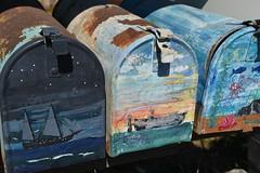 the post (=Mirjam=) Tags: nikond750 sausalito mailboxes painted usa mail colour boats sea fish traveling california oktober 2016