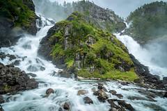 Ltefossen, Hordaland, Norge (North Face) Tags: norge norwegen norway waterfall water rocks summer nature landscape wasserfall landschaft canon eos 5d mark iii 5d3 ltefoss odda outdoor