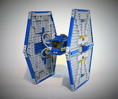 Classic space Tie fighter MOC (adde51) Tags: adde51 lego moc classic space tie fighter tiefighter star wars starwars spacewars mixing mix