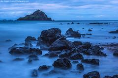 Koki Beach (Ben_Cooper) Tags: hawaii maui roadtohana hana kokibeach koki rocks longexposure twilight bluehour blue