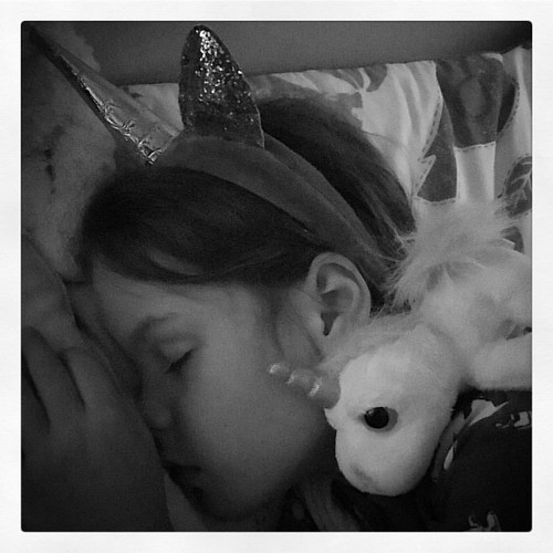 Her world is a lot more appealing, than the one we are living in right now.  #dreamadreamofunicorns