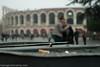 Smoke in Verona (My Magical Slow Trip) Tags: verona city monument history distraction autumn fog