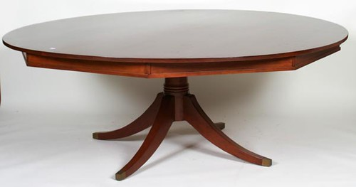 Virginia Craftsman Round Dining Room Table ($560.00)