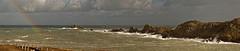 LA POINTE DU GROUIN APRES L'ORAGE (Odile ENTRE MER ET MONTAGNE) Tags: bretagne cancale pointedugrouin mer sea seascape paysage ciel sky arcenciel illeetvilaine
