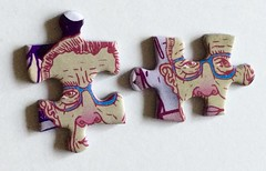 Look-alikes (Don Moyer) Tags: puzle jigsaw kickstarter face twin clone doppelganger lookalike drawing moyer donmoyer brushpen