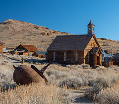 high plains drifting (reserves13) Tags: bodie northerncalifornia church ghosttown