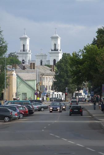 View towards St. John's the Baptist Church, 10.08.2013.