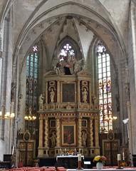 Quedlinburg: Marktkirche St. Benedikti (zug55) Tags: quedlinburg marktkirchestbenedikti altar stbenedikti marktkirche kirche church gotisch gothic sptgotisch hochaltar leonhardchristophsturm deutschland germany sachsenanhalt saxonyanhalt harz unescoworldheritagesite unesco unescowelterbe welterbe worldheritagesite joachimquerfurt barock baroque