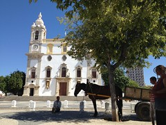 Gipsy Church (do.kran) Tags: church gipsy donkey faro portugal sunny sea travel summer atmosphere