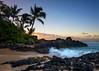 Paradise Found (Todd Hurley Photography) Tags: maui hawaii hi makenacove secluded secretbeach weddingbeach southwestmaui ocean blue palmtree cove sunrise color sand paradise