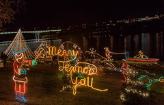 Christmas (Jims_photos) Tags: marblefallstexas christmaslightshow texas outdoor outside oldmemories adobelightroom adobephotoshop shadows downtown jimallen lightroom nopeople nightphotos nightshot nightimages memories