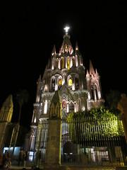 La Parroquia at night, San Miguel de Allende, Mexico (Paul McClure DC) Tags: sanmigueldeallende bajío mexico guanajuato nov2016 church historic architecture