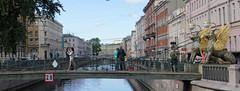 Saint Petersburg 12 (mpetr1960) Tags: saint people petersburg bridge city cityscape man woman russia sculpture river nikon d810