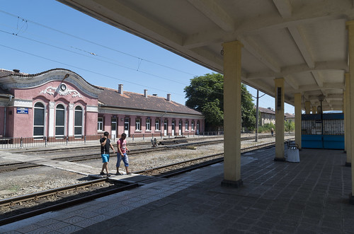 Pernik Razpredelitelna railway station, 23.07.2015.