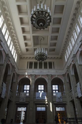 Interior of the Ruse railway station, 12.10.2014.