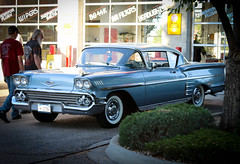 1958 Chevrolet Impala Hardtop (coconv) Tags: car cars vintage auto automobile vehicles vehicle autos photo photos photograph photographs automobiles antique picture pictures image images collectible old collectors classic blart 1958 chevrolet impala hardtop 58 first year 2 door sports coupe chevy