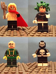 Thor___Max Fury____Stucker____ Punisher (Letgoofmylego) Tags: marvel lego minifig max fury nick shield thor hydra