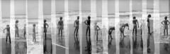 "On the sea with a ""slitcam"" 2 (Giorgio Verdiani) Tags: bakelite bachelite blackplastic plasticanera plastic plastica film pellicola blackandwhite biancoenero 6x6 120 rollfilm rullo people gente kodak tmax 100asa 100iso slitcam ilford envoy sea mare tirreno tuscany toscana marinadicarrara ms stolenshots scattirubati"
