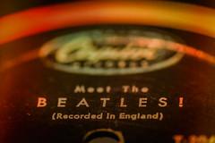 Vinyl (trs125) Tags: macromondays beatlesbeetles meetthebeatles vinyl record capitolrecords thebeatles fabfour