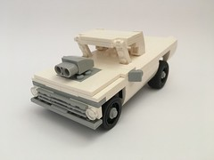 Ford truck (Cappaccinio) Tags: ford f100 lego lugnuts mint truck wrecker tow supercharged blown