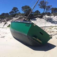 Passage Beach. Shipwrecked.