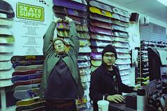 tired n tryna skate (koreyjackson) Tags: lomo lomography film 35mm minolta x700 washington dc thank you gallery norfolk