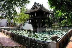 One Pillar pagoda 2 (hanoitouronline) Tags: halongbaytours traveltohanoi bookflightticket sapatrekkingtours booktrainticket hanoitoursinformation halongbayonalovacruises ninhbinhecotours hanoionedaytours halongbayonedaytours vietnamhoneymoontours hanoigolftours hanoivillagestours rentthecars