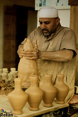 Pottery maker -   (Rkoosh Ya b3dhoom_@Rakan966) Tags: canon eos 50mm      60d