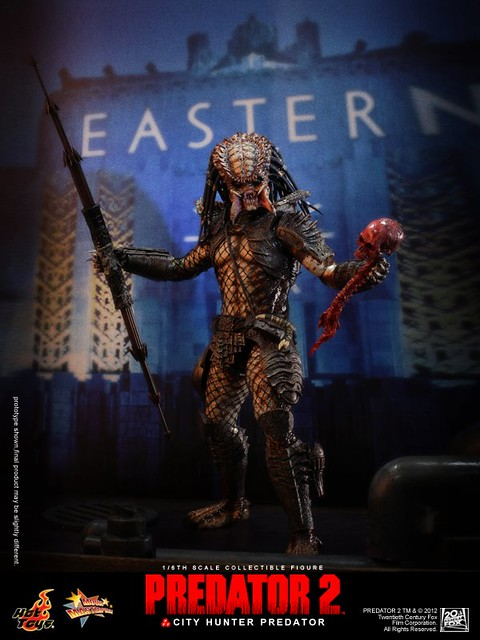 Hot Toys - 終極戰士2:1/6th scale City Hunter Predator Collectible Figure