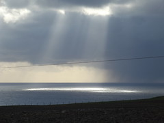 Sun Rays (Owen H R) Tags: light sea sky sun sunlight clouds flickr rays owenhr