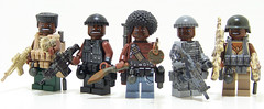 NBA Barf (Silenced_pp7) Tags: brown black brick lego fig head camo barf prototype heads custom nba proto cammo minifigure moc protos brickarms figbarf gibrick