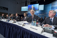 Kazuo Inaba, Michael Kloth and Pat Cox attend the session