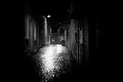 Bin Cobbled (Explored) (stephen cosh) Tags: life street leica city people blackandwhite bw sepia mono scotland town unitedkingdom candid streetphotography rangefinder ayr reallife ayrshire humancondition blackandwhitephotos 50mmsummilux blackwhitephotos leicam9