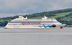 AIDA CARA, SKELMORLIE (Time Out Images) Tags: cruise scotland clyde cara aida firth skelmorlie of ayrshirecoast