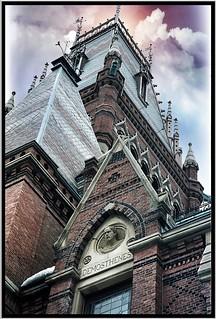 Cambridge  Mass ~  Harvard University ~ Memorial Hall ~ Vintage Film