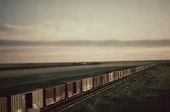 Slow Train Not Running-Explored #334  6/23 (pam's pics-) Tags: ontheroad jackkerouac train railway railroad tracks co colorado flaglercolorado nikond40 pamspics pammorris sunrise abandoned