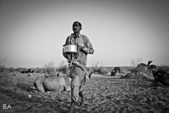God bless them ruralites! (Ebtesam Ahmed) Tags: pakistan milk desert camel khan sindh yar rahim