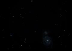 The Whirlpool Galaxy (ChristheFuzzy) Tags: star space whirlpool galaxy m51 messier Astrometrydotnet:status=solved Astrometrydotnet:version=14400 Astrometrydotnet:id=alpha20130512147861