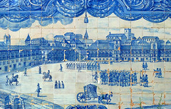 Azulejos in Lisbon (Dan & Luiza from TravelPlusStyle.com) Tags: city travel lisbon azulejos