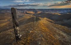The Fenceline (Night Scapes) Tags: sunset landscape photography nikon tokina breckenridge bakersfield d800 kerncounty steverengers steverengersphotography