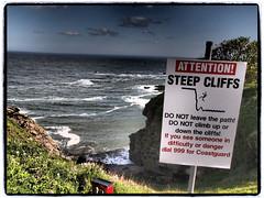 Danger ! (FotoFling Scotland) Tags: coast scotland aberdeenshire