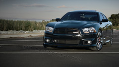 SRT (BluAlien) Tags: black car nikon 64 dodge hemi charger d800 srt 392 srt8